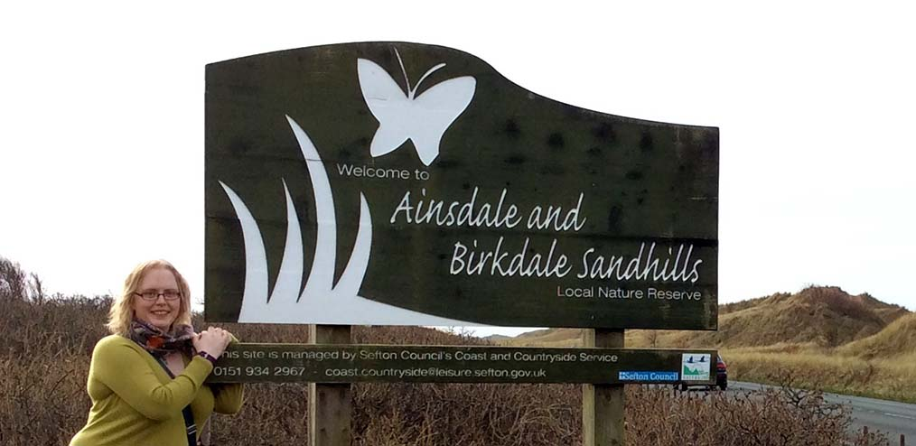Ainsdale and Birkdale Sandhills, near Southport, Lancashire; from a travel blog by www.traveljunkiegirl.com