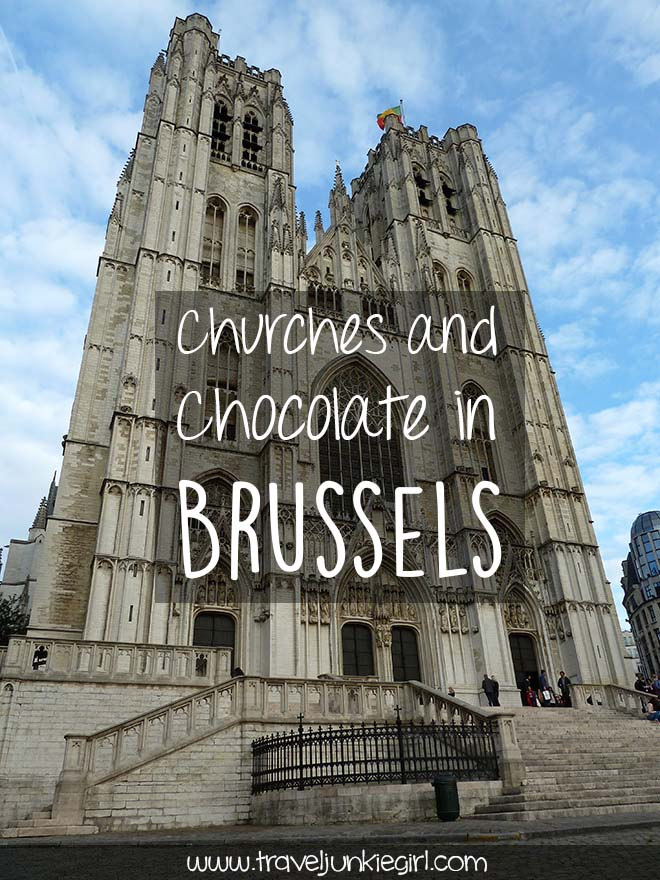 Churches and Chocolate in Brussels, from a travel blog by www.traveljunkiegirl.com