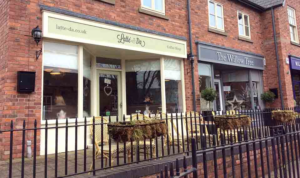 Latte Da Coffee House, Tarporley, Cheshire, UK; from a travel blog by www.traveljunkiegirl.com