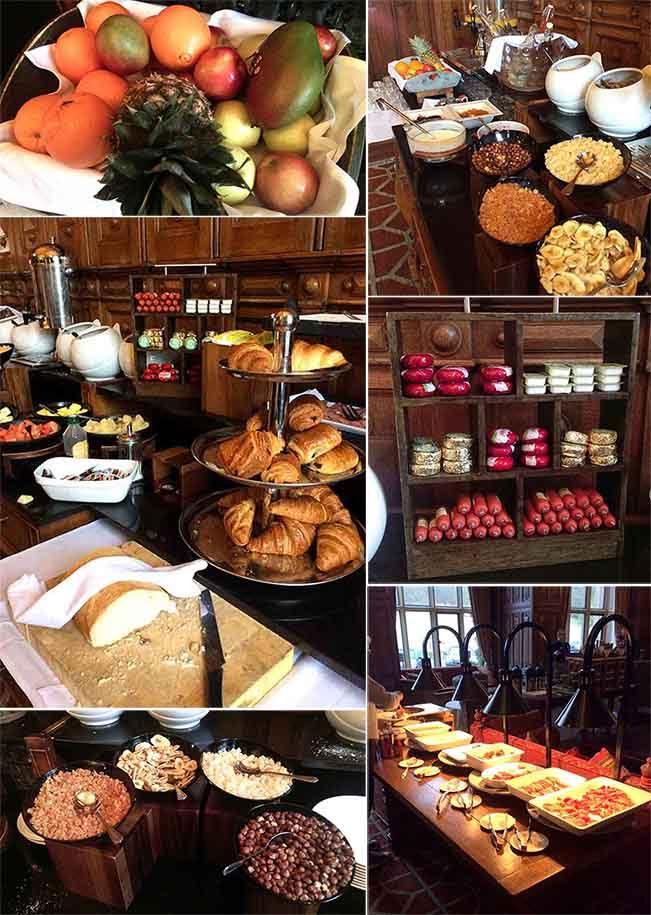 The Welcombe Hotel's Breakfast, Warwickshire; from a travel blog by www.traveljunkiegirl.com
