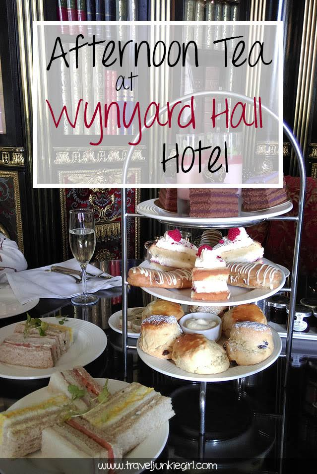 Wynyard Hall Afternoon Tea Review, County Durham; from a travel blog by www.traveljunkiegirl.com