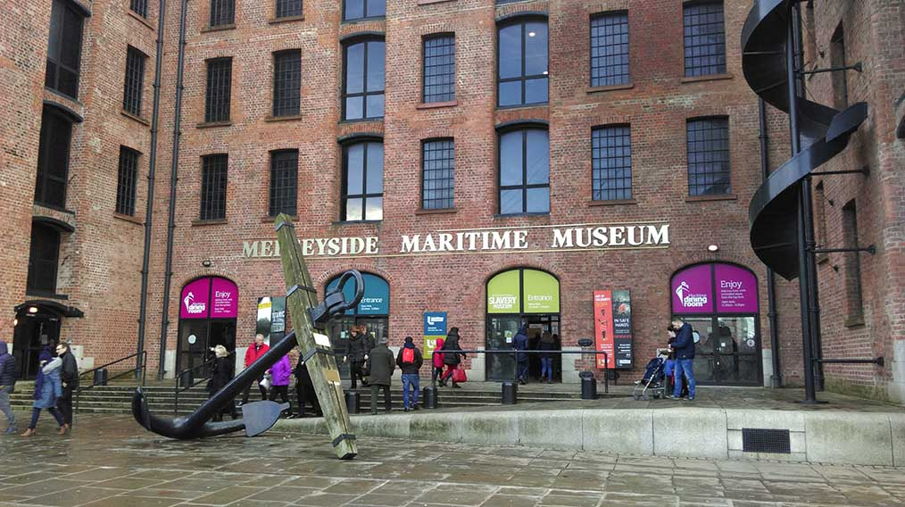 Merseyside Maritime Museum, Albert Dock in Liverpool; from a travel blog by www.traveljunkiegirl.com