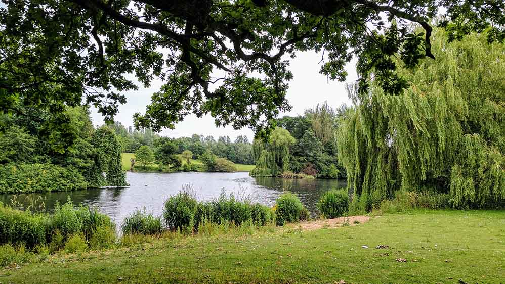 Markeaton Park in Derby, England; from a travel blog by www.traveljunkiegirl.com