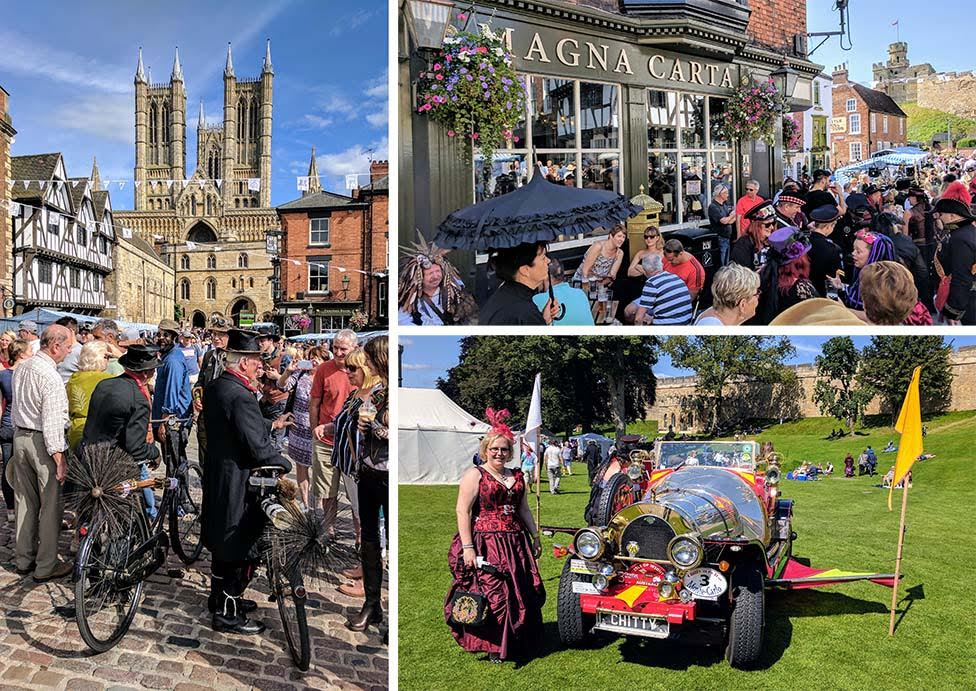 Lincoln Asylum Steam Punk Festival, England; from a cultural travel blog by www.traveljunkiegirl.com