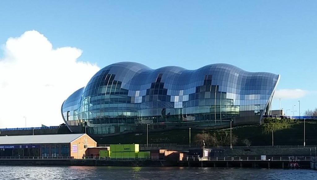 Sage Gateshead is a new arts, culture and entertainment venue in Newcastle; from a cultural travel blog by www.traveljunkiegirl.com