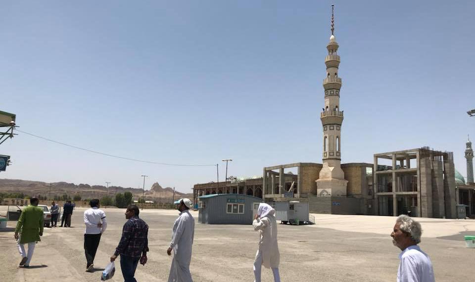 ईरान की ऐतिहासिक मस्जिद जामकरान...