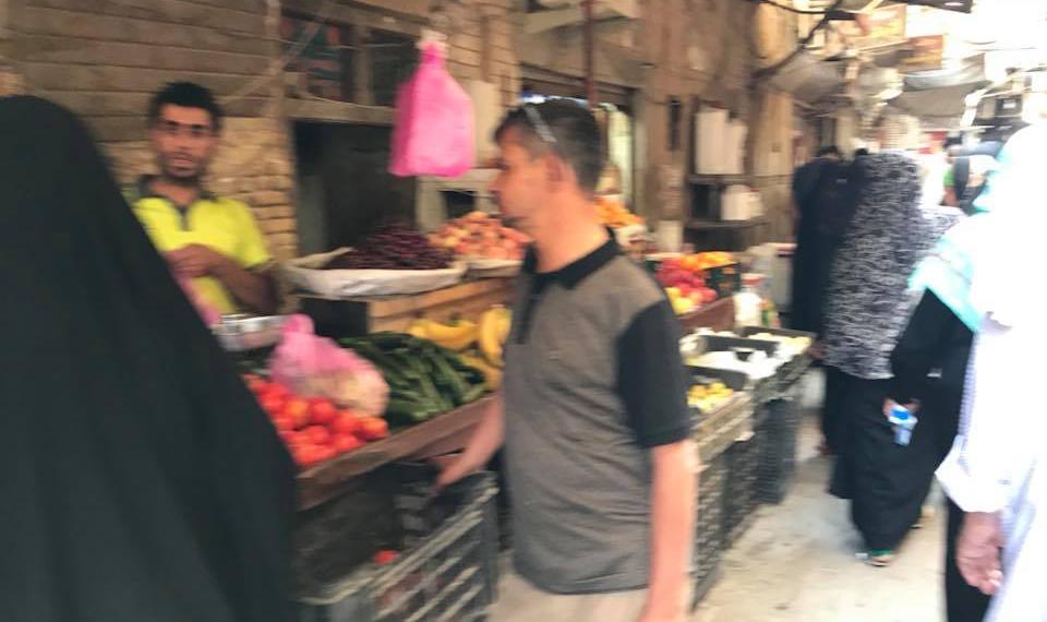 इराक़ में छोटे शहरों के बाज़ार भारत जैसे ही हैं।