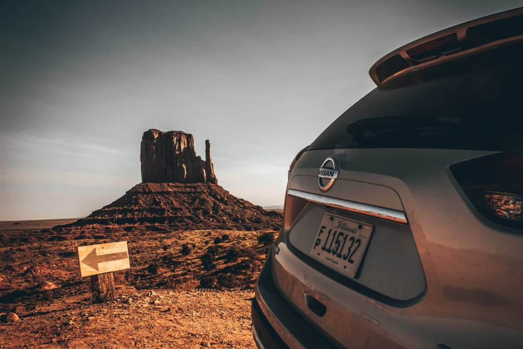 Nissan Monument Valley