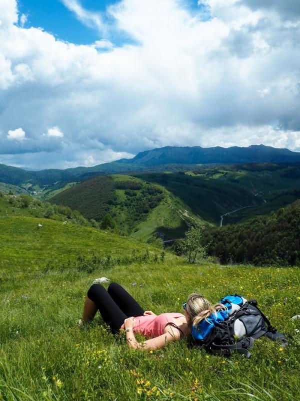 رحلتي الى البوسنة والهرسك ودليل السياحة فيها جبال بيلجينسكا في البوسنة والهرسك