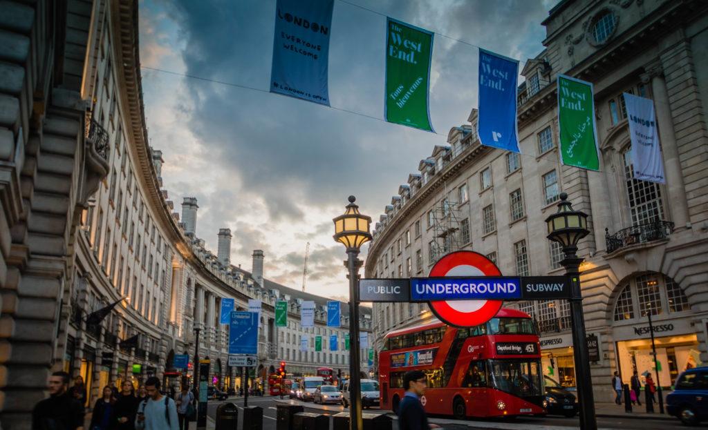 رحلتي إلى لندن للمرة الاولى