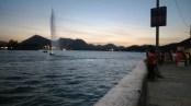 Fateh Sagar Lake after Sunset