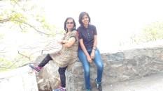 Enjoying the way to Mt. Abu..