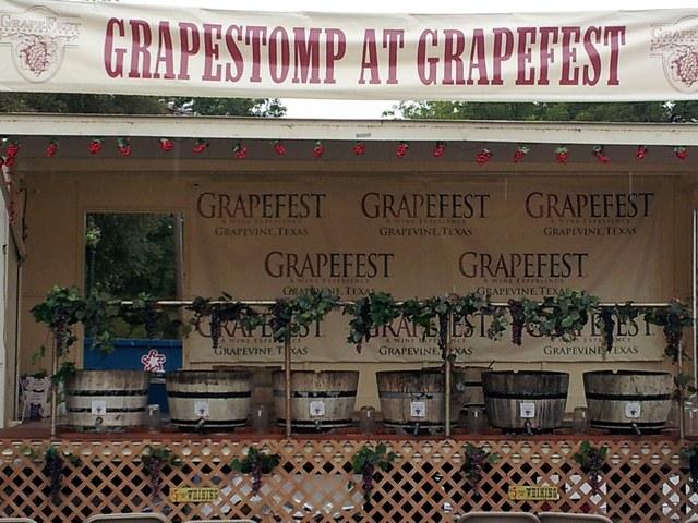 Grape Stomp at Grapefest 2012