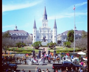 The Heart of the French Quarter: Jackson Square & St. Louis Cathedral