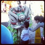 Making friends with the Lion at Tet in Texas via @TravelLatte.net