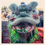 Face to Face with a Lion (Dancer) at Tet in Texas via @TravelLatte.net