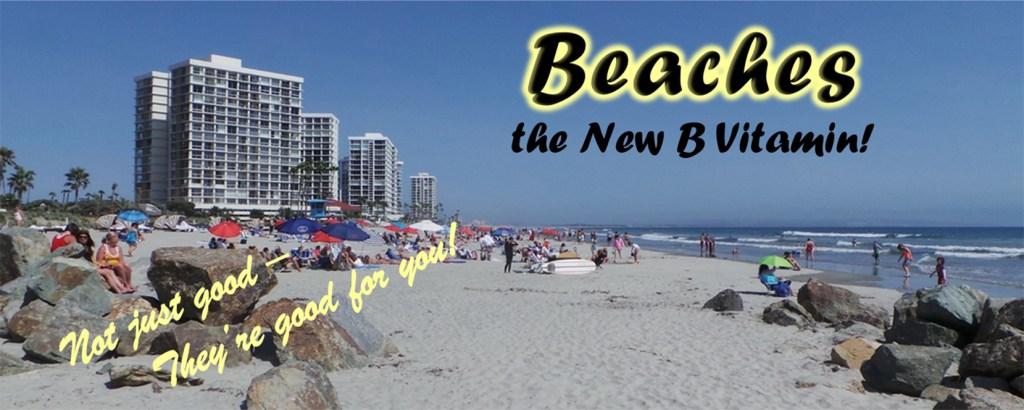 Banner: Beaches - the New B Vitamin