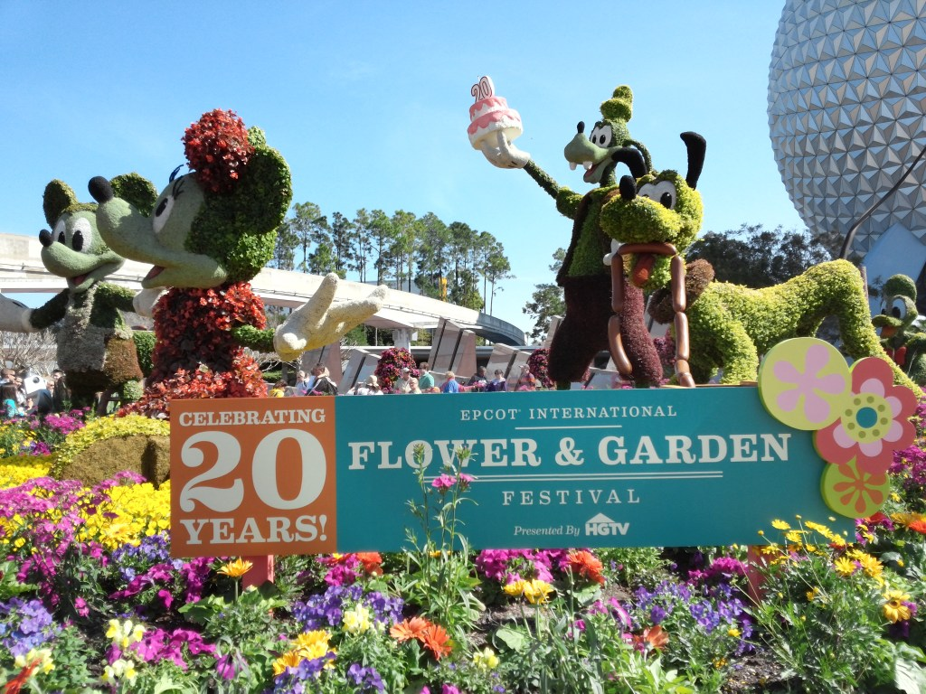 Celebrating 20 Years of the Epcot International Flower & Garden Festival