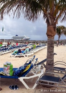 Norwegian Sky at Great Stirrup Cay