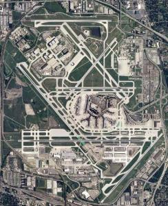 Chicago O'Hare International Airport (US Geological Survey photo)