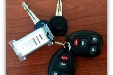 Rental Car Keys