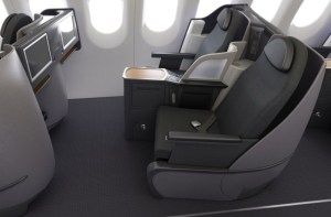 A321T Business Class Seating