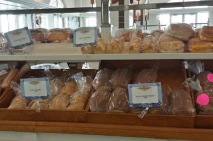 Photo: Bread bin at Collin Street Bakery