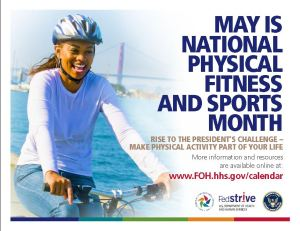 National Fitness Month Flier