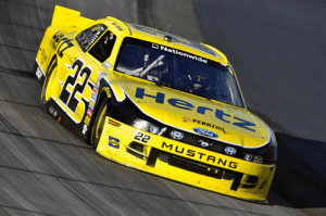 Hertz NASCAR race car