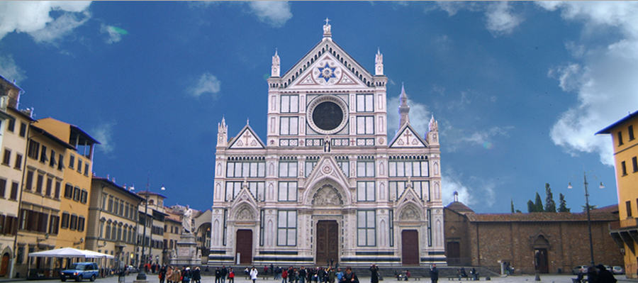 Basilica de Santa Croce - Birth & Death of the Renaissance via @TravelLatte.net
