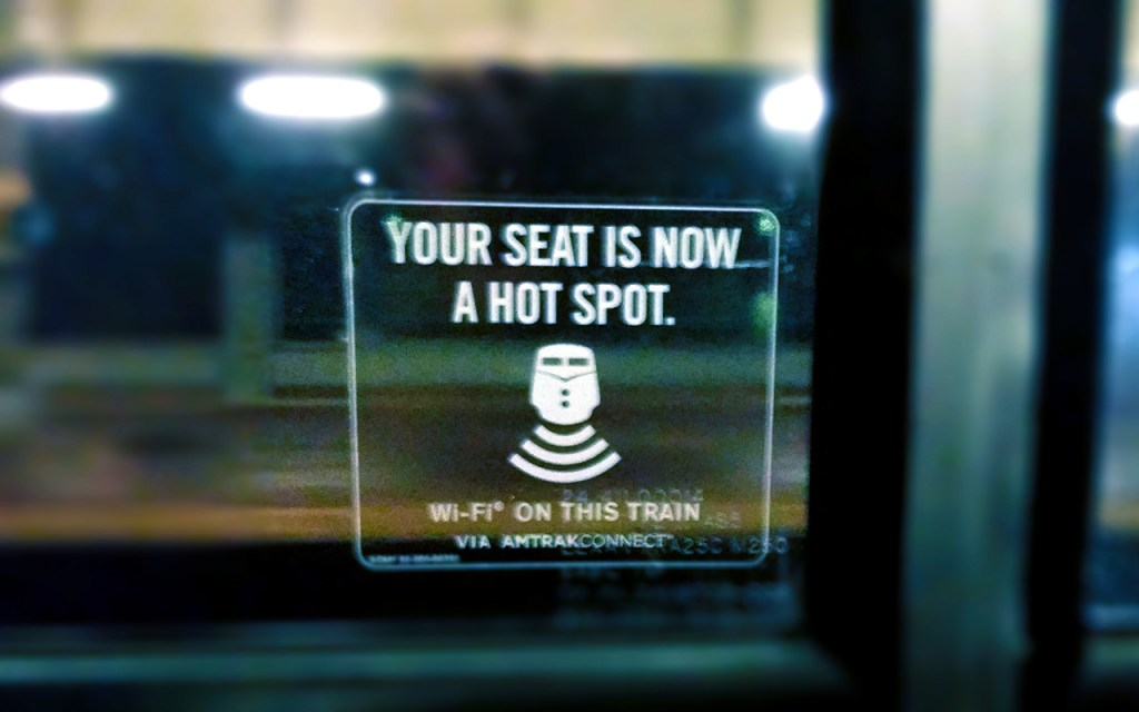Free WiFi on Amtrak - A Simple Guide to Internet Safety while Traveling