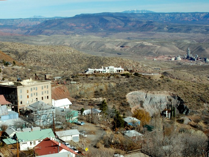 Photo: Douglas Mansion in Jerome, Arizona
