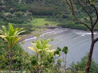 Another view of idyllic Maliko Bay.