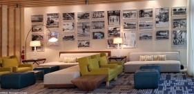 Photo: Courtyard Cadillac Hotel Lobby