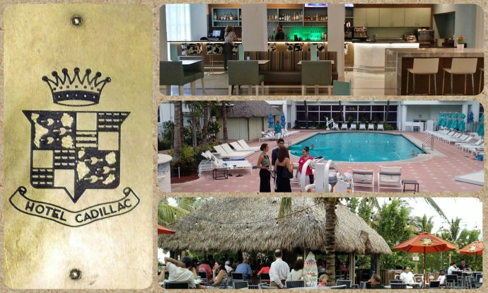 Photo Collage: Public spaces at Courtyard Cadillac Hotel