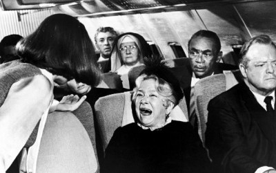 "Photo: Scene from the 1970 movie ""Airport"""