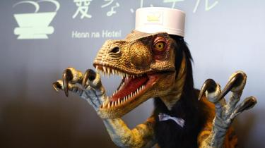 Photo: T Rex Robot at Henn na Hotel, Japan