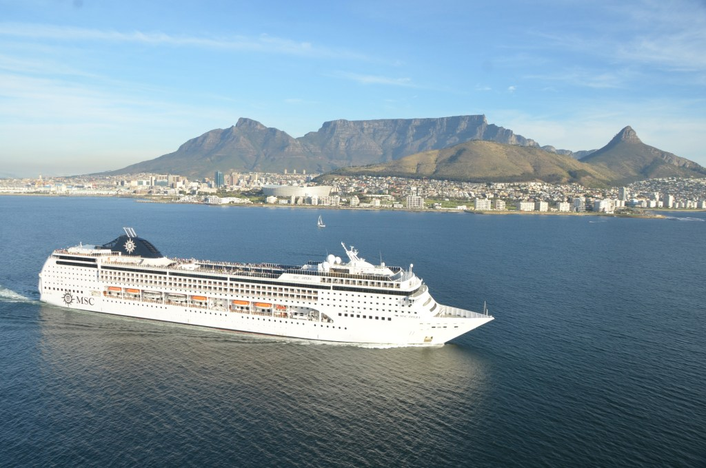 Photo: MSC Opera cruise ship at sea