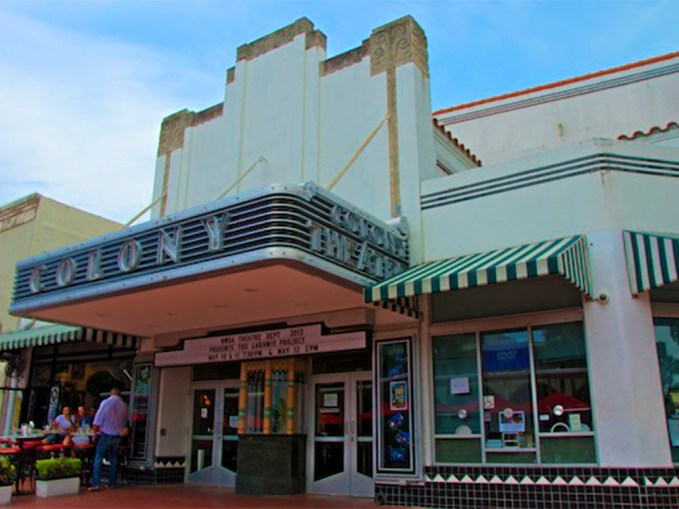 Photo: Colony Theatre at Lincoln Road Mall