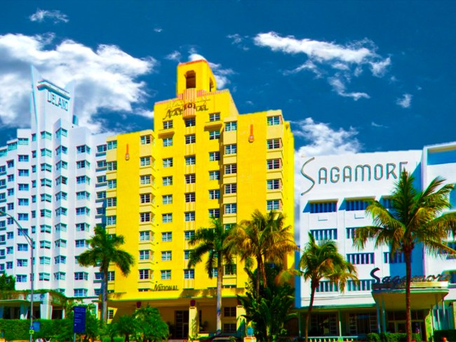 Photo: Delano, National and Sagamore Hotels, Miami Beach