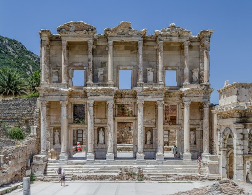 Photo: Library of Celsus in Ephesus