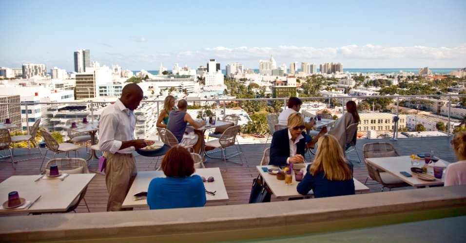 Exploring Iconic Miami Beach Destinations - Rooftop Dining at Juvia