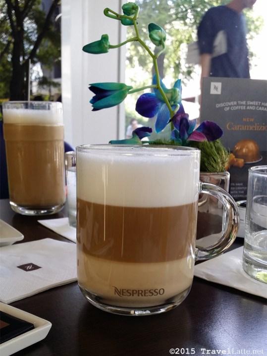 Exploring Iconic Miami Beach Destinations - Cappucinno at Nespresso Boutique