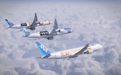 Star Wars Takes Flight on Three New Planes