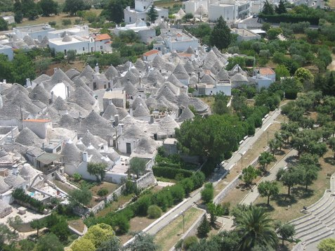 Travel To Do: UNESCO World Heritage site Alberobello