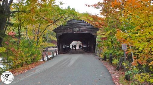 Albany Covered Bridge on the Kancamagus Highway