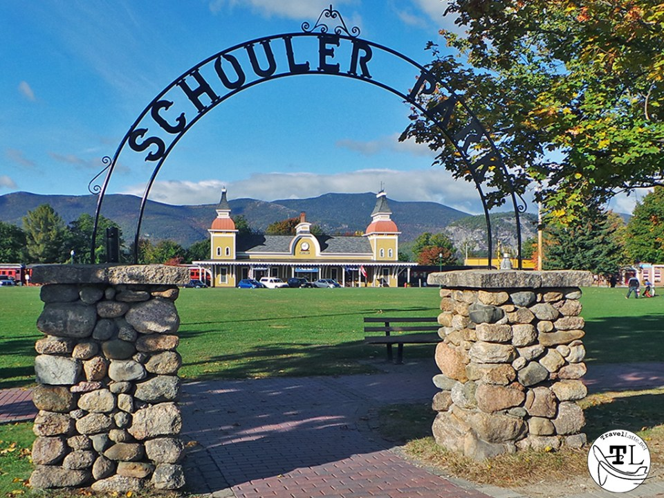 North Conway NH - Schouler Park and Conway Scenic Railroad