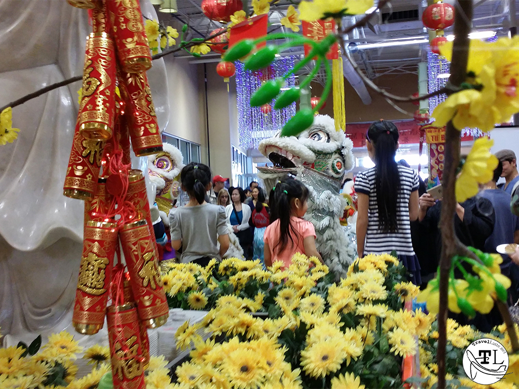 Tet in Texas: Chinese New Year at Asia Times Square - Enter the Lion via @TravelLatte.net