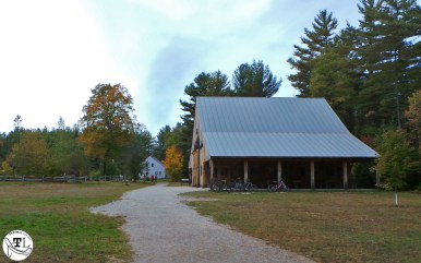 The Russell-Colbath house and barn, via @TravelLatte