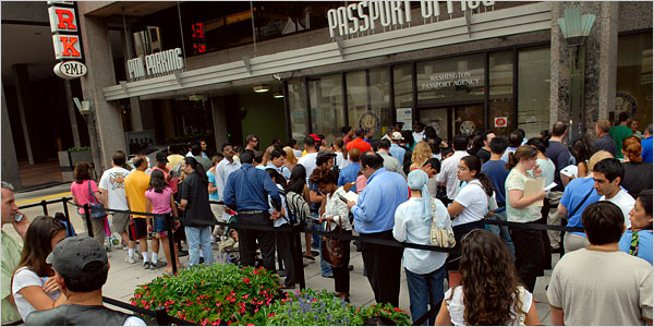 Expect long lines this year at passport offices, via @TravelLatte.net